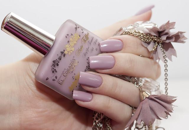 EL Corazon - Маттированный или сатиновый лак для ногтей Matte Effect