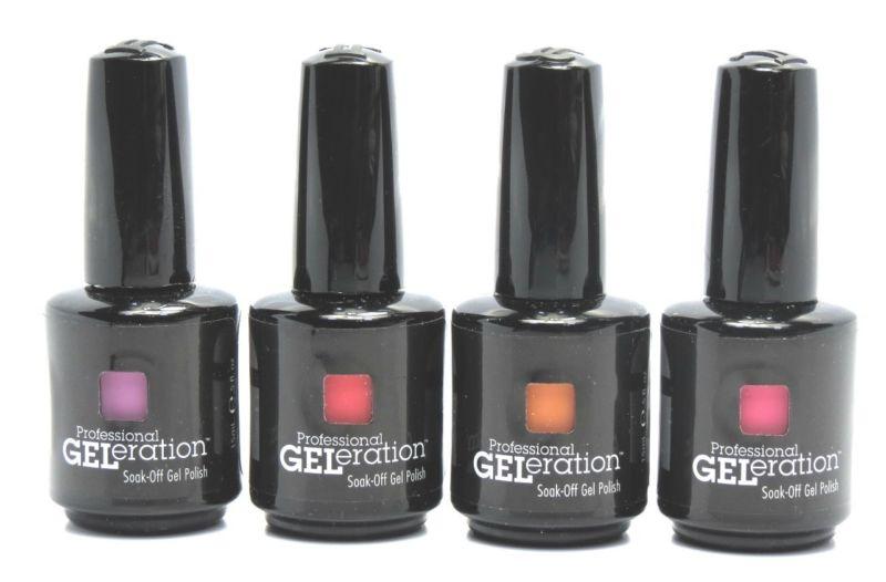 Гель-лаки для ногтей Jessica Geleration
