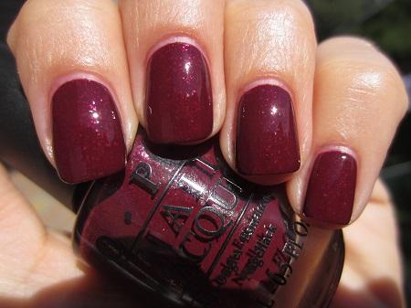 "Лак для ногтей OPI ""Pepe Purple Passion """