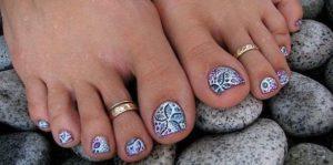 Художественная роспись ногтевой