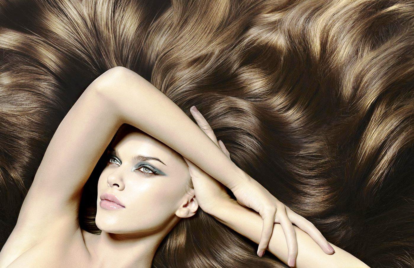 Блестящие и эластичные волосы после применения масок