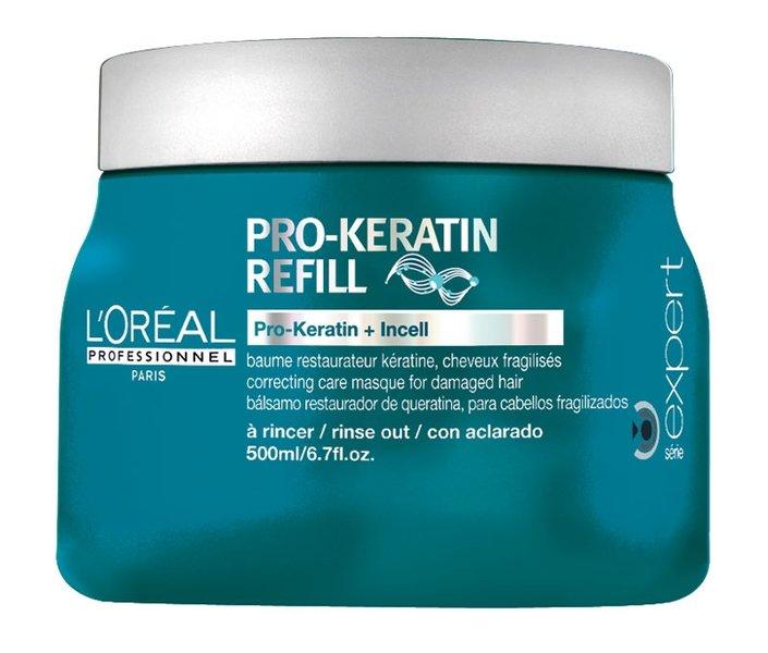 L`Oreal Маска восстанавливающая и укрепляющая с кератином Pro-Keratin