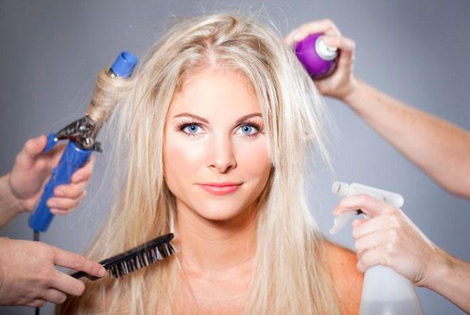 Эксперименты с волосами