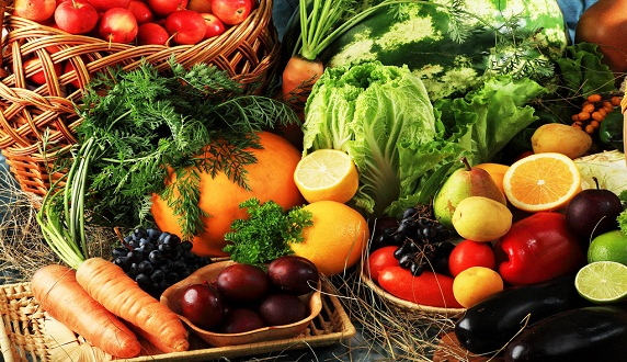 овощі і фрукти вітаміни