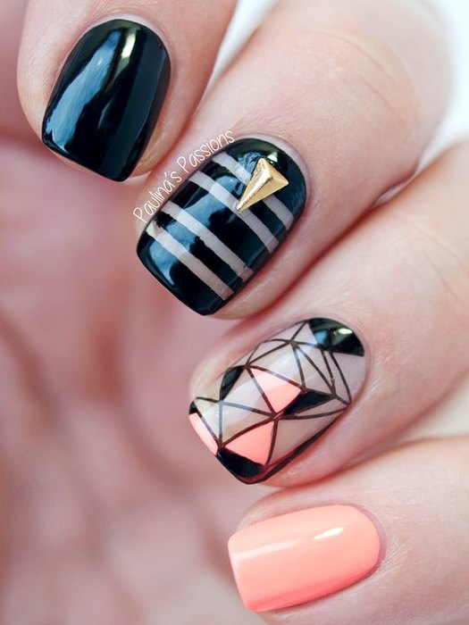 Квадратная форма ногтя