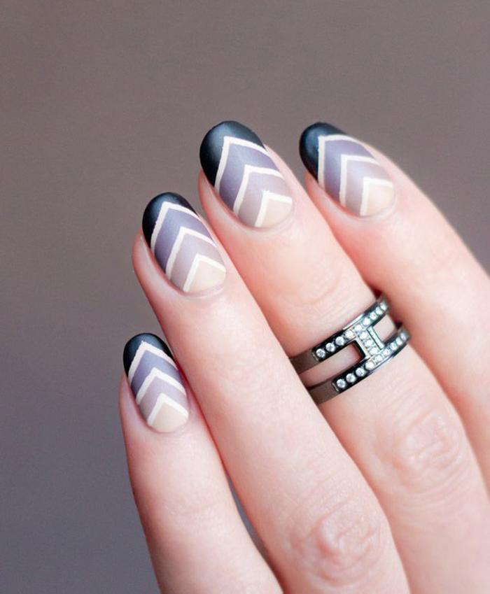 Овальная форма ногтя