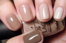 Короткие ногти — какой цвет лака подходит?