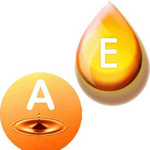 Витамины Е и А