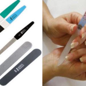 Основные виды пилочек для ногтей.