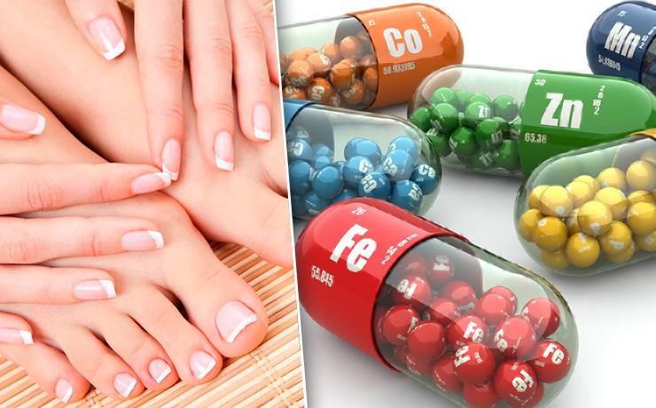 курс витаминов для ногтей
